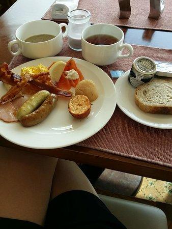 The Westin Chosun Busan : Breakfast at the Executive lounge