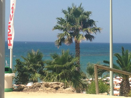 Club Lipari Hotel : la plage