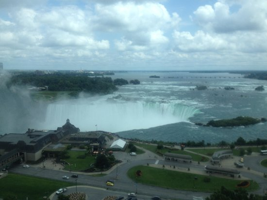 Niagara Falls Marriott Fallsview Hotel & Spa : View from room on 15th floor