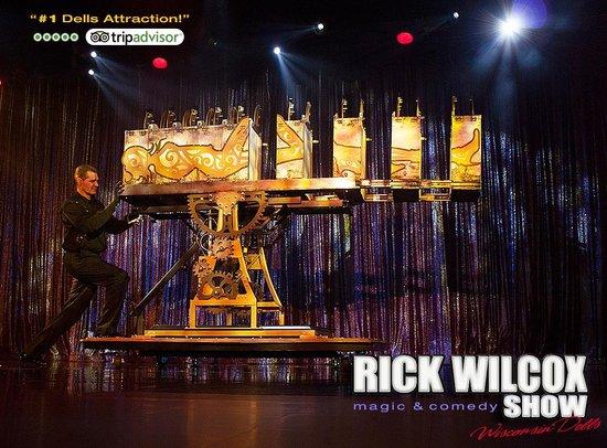 Rick Wilcox Magic Theater: The Slicer Illusion, Rick Wilcox Theater