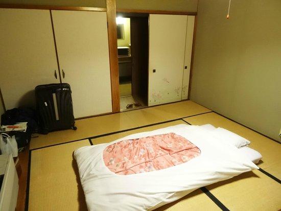 Shimaya Ryokan: Bedroom