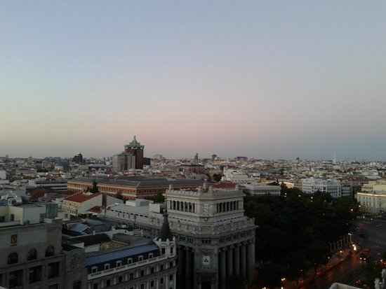 Azotea Del Circulo De Bellas Artes Tartan Roof Madrid