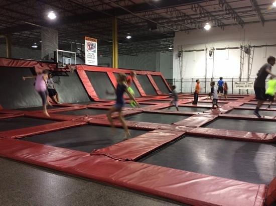 Rockin' Jump: 8-13 year olds area