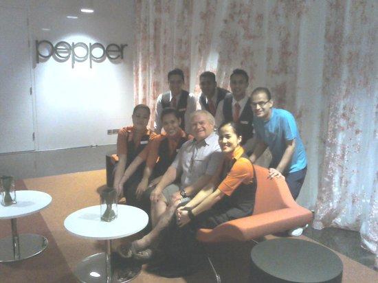 Novotel Abu Dhabi Al Bustan: Beta and her team