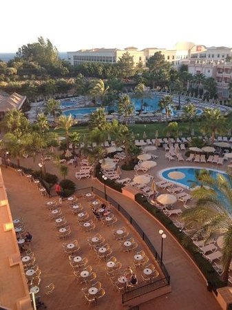 ClubHotel Riu Guarana: view from room 325!