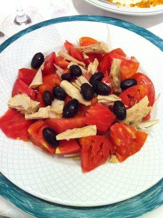 Iruna: Ensalada de tomates