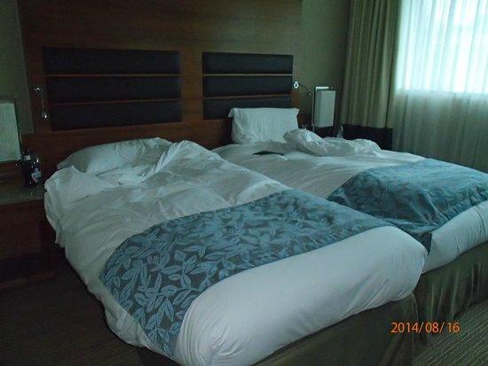 Sofitel London Heathrow: Comfortable beds