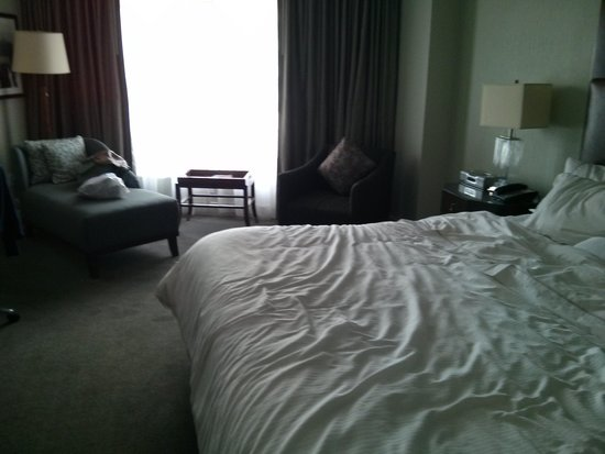 The Westin Jersey City Newport: Nice room, very clean.
