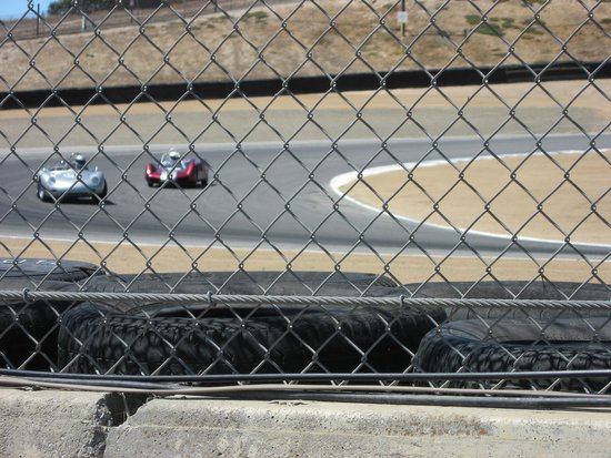 Mazda Raceway Laguna Seca: Porsche RS in turn 1