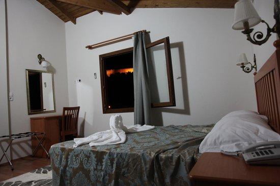 Hotel Ave Maria: odadan kale manzarası