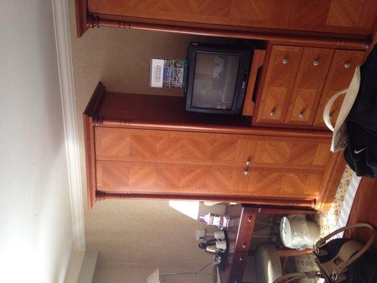 Daresbury Park Hotel: Dated tv