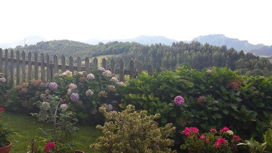 Hotel rural la Biesca: Vista dalla terrazza
