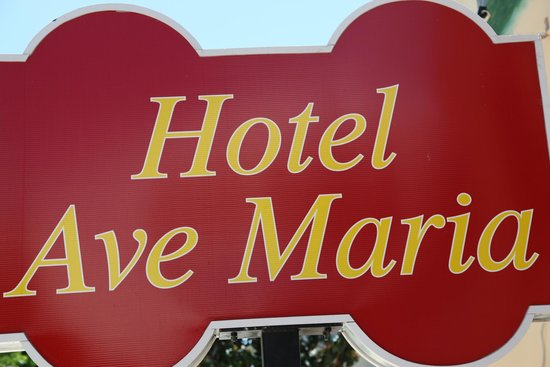 Hotel Ave Maria: tabela