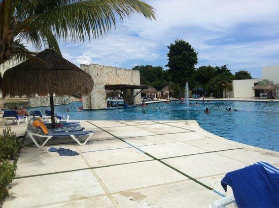 Grand Sirenis Riviera Maya Resort & Spa: Piscina principal