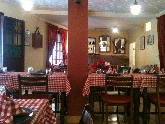 La portugaise : Sala da pranzo
