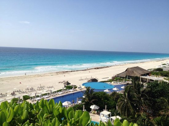 Live Aqua Beach Resort Cancun: view from aqua suite on floor 2