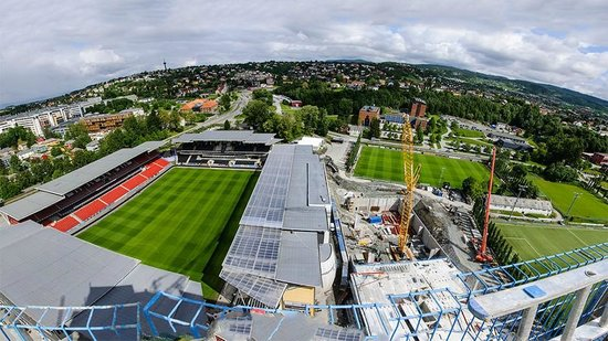 Scandic Lerkendal : View from hotel