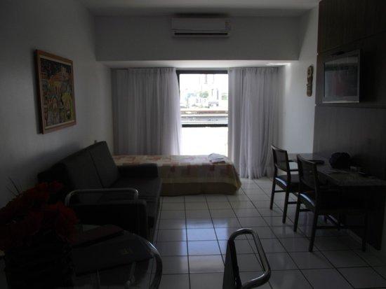 Littoral Tambau Flat: Sala com uma cama