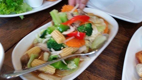 Thai Square Hanover Square: Piquant vegetables