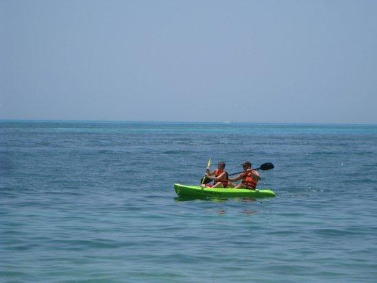 Hotel Riu Caribe : Kayak