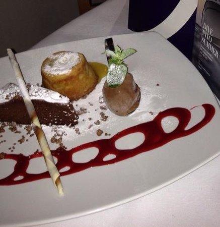 Whits: dessert trio