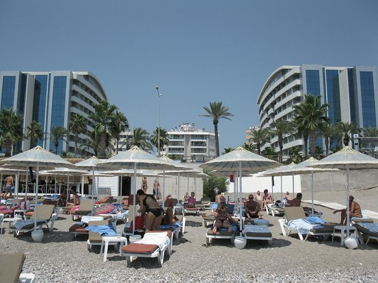 Porto Bello Hotel Resort & Spa: Porto Bello Hotel Beach - Antalya, Turkie
