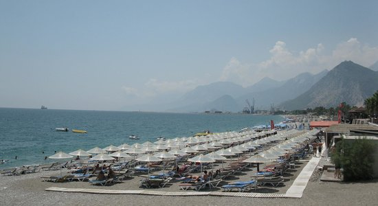 Porto Bello Hotel Resort & Spa: Porto Bello Hotel Beach - Antalya