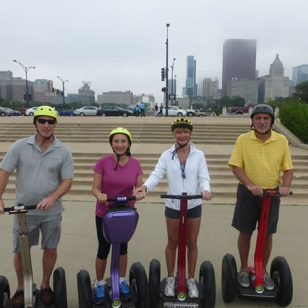Chicago Segway Tour: A Great Segway Tour (on not such a great Chicago day)!