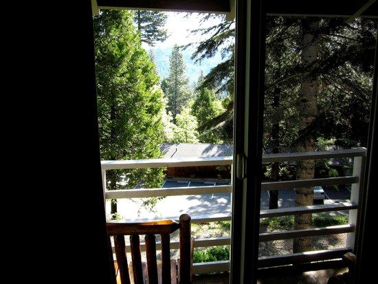 Narrow Gauge Inn : Toller Ausblick vom Zimmer aus
