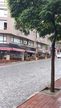 Turkuaz Suites Bosphorus: Sulyman Seba street