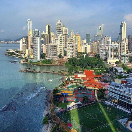 Trump International Hotel & Tower Panama: Vista del piso 24 del Trump