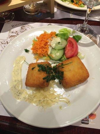 Bierbrasserie Cambrinus: Croquetas fromage ! Un délice
