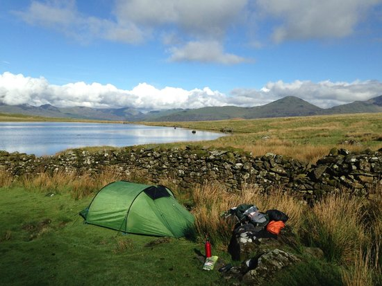 Wild camping in Snowdonia - Picture of Come Walk With Me UK