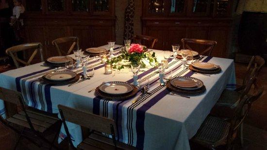 Chambres en Vigne: Table d'hôtes