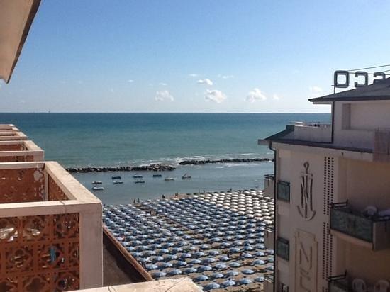 Hotel Diplomat Marine: la vista dalla camera da letto