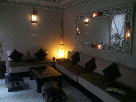 Riad Palau: sitting room