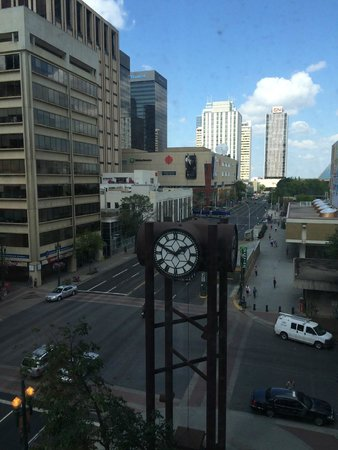 The Westin Edmonton : View from our room