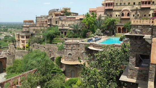 Neemrana Fort-Palace: View from the room