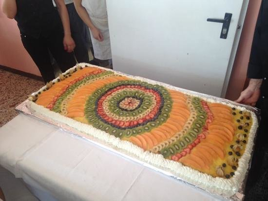 Hotel Diplomat Marine: la torta d ferragosto