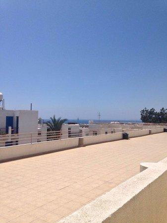 Paloma Hotel Apartments: Top floor balcony