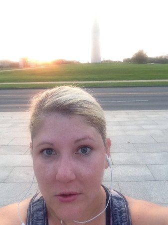 Embassy Suites by Hilton Washington-Convention Center: Morning run at National Mall a few blocks from hotel