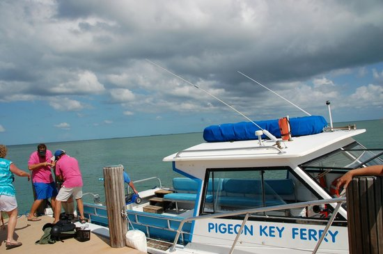 The Overseas Highway: Ferry to Pigeon Key