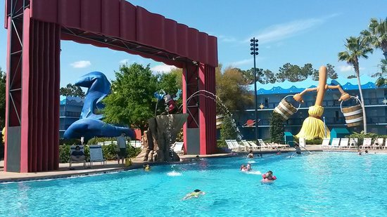 Disney's All-Star Movies Resort : Piscina