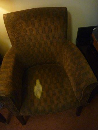 Gallaghers Hotel : Fauteuil de notre chambre...!