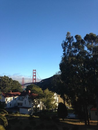 Cavallo Point: View from the restaurant deck