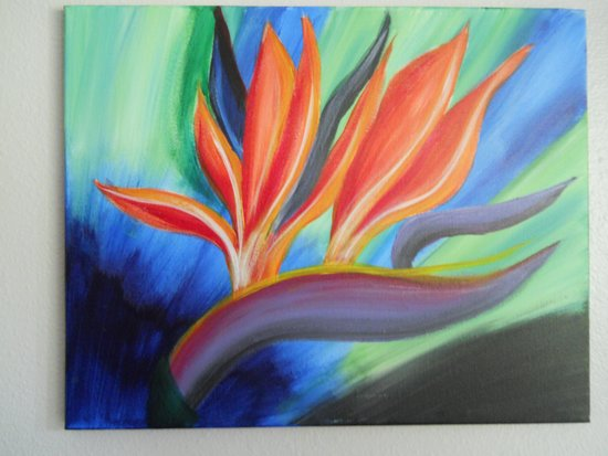 Painting With a Twist : My Sister's Painting