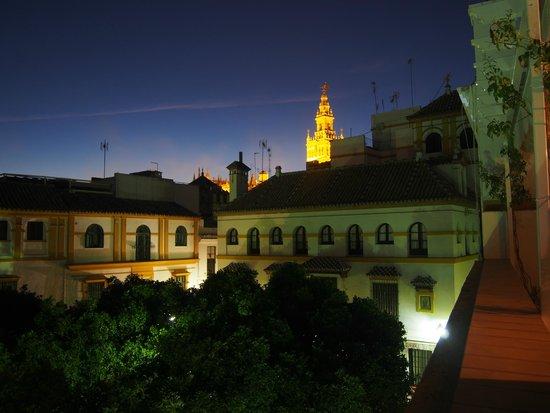 Hotel Boutique Elvira Plaza: vue du balcon
