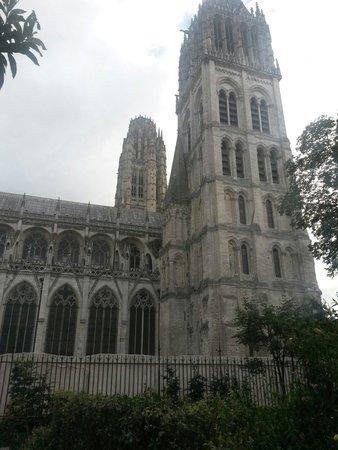 Cathédrale Notre-Dame de Rouen : Autre vue de la cathédrale de Rouen