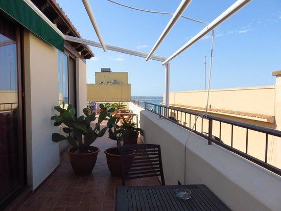 Palazzo dei Corsari: Terrasse