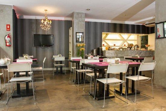 Epico Recoleta Hotel: Breakfast Area